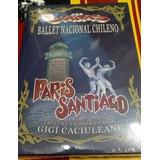 Dvd - Los Jaivas - Paris Santiago - Ballet Nacional Chileno