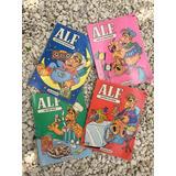 Lote 4 Retro Libros Alf Para Colorear Nuevos 80