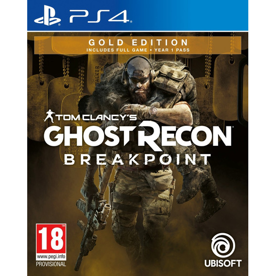 Tom Clancy's Ghost Recon Breakpoint Gold Edition Ps4 Fisico
