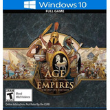 Age Of Empires Definitive Edition Gratis !! Juego Pc Español