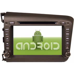 Estereo Android Dvd Gps Honda Civic 2012 Touch Bluetooth Hd