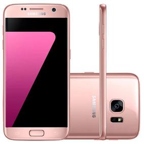Samsung Galaxy S7 Rose - 4g, Tela 5.1 32gb