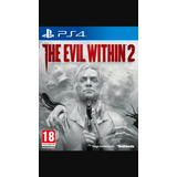 Ps4 The Evil Whitin 2 Nuevo Sellado