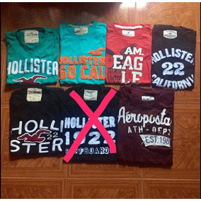 Remeras Abercrombie Hollister American Eagle Aeropostale.
