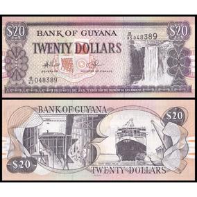 Guyana Guiana P-30e Fe 20 Dollars Nd ( 2009 ) * C O L *