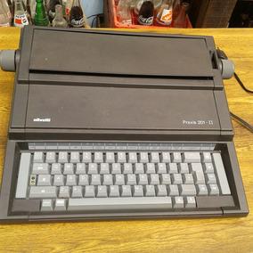 Maquina De Escrever Olivetti Praxis 201-ll Eletronica Func.