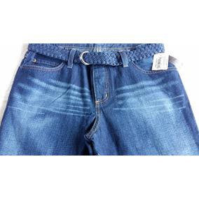 Linda Calça Feminina Zoomp Com Cinto Jeans,super Preço!