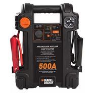 Inflador Arrancador 12v Black Decker Usb 500amp Js500cc