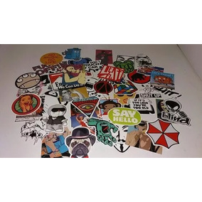50 Uns. Adesivos Bombs Stickers