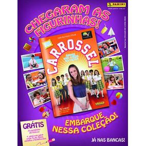 Album Carrossel 2012 + Todas Figurinhas Novas P Vc Colar
