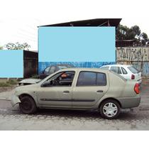 Motor Parcial Renault Clio 1.0 16v Ano 00 A 04 Gasolina