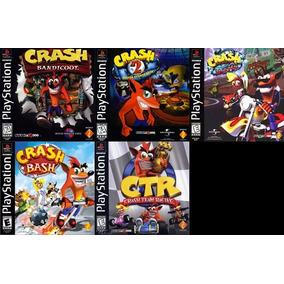 [ps1] Saga Crash Bandicoot Playstation 1 (5 Juegos)