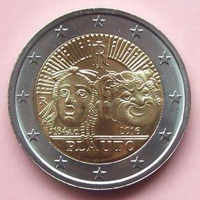 Italia - Moneda Bimetálica 2 Euros 2016 - Plauto ¡ S/circ.!