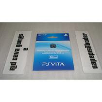 Cartão Memória 64 Gb Original Sony Psvita - Pronta Entrega