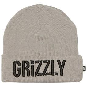 Gorro Grizzly Touca Skate Original Garantia Nf Cinza c8ac5dcd40d