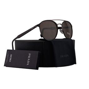 12ad33ae82714 Óculos Prada 14ns 4an6s1 Brown 14ns Sunglasses - Óculos no Mercado ...