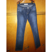 Jeans De Dama Marca Inquieta Usada Talle 38 Impecable
