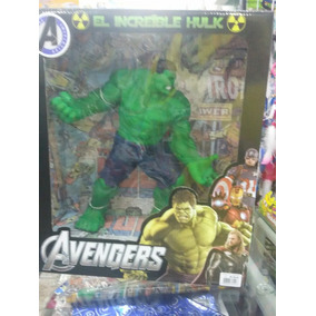 Boneco Hulk Boracha Marvel