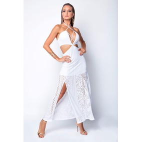 Vestido De Brasil Original Hipkini Fiesta Supplex