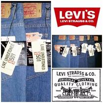 Oferta Jeans Levis 501 Caballeros Panameños