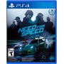 Juego Need For Speed Ps4 Licencia Original Envio Inmediato