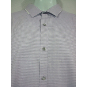 Camisa Marc Anthony Color Lila Talla L Slim Fit