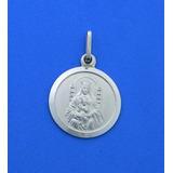 Medalla Virgen De Coromoto Plata Ley 925 De 16mm Smvco16