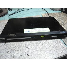 Dvd Player Philips Dvp-3124 - Para Peças Ou Reparo