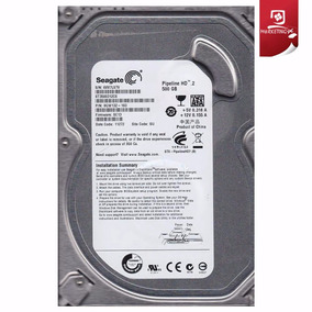 Disco Duro Para Pc 500gb Seagate Sata 3,5 Pulgadas Interno