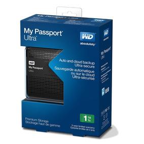 Disco Duro Portátil Wd Passport Ultra 1tb