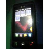 Telefono Celular Lg Kp570q Usado Para Reparar Tactil Dañado