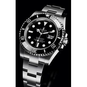 Reloj Acero Bicel Negro Ceramico Submariner Automatico