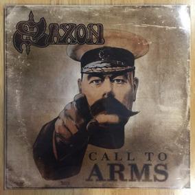 Lp Saxon Call To Arms (2011) 1ª Prensagem Germany Lacrado!!!