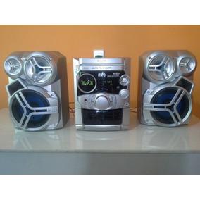 Mini System Panasonic Sa-ak320 Carrossel 5 Cd Mp3 Stereo120v