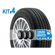 Kit 4x3 195/55 R15 Turanza Er30 Bridgestone Envío +4 Válv $0