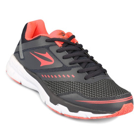 Topper Zapatilla Running Mujer Lady Stride Ii Gris/coral