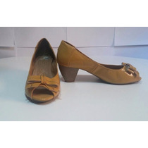 Sapato Peep Toe - Linda Luz - Xodóh