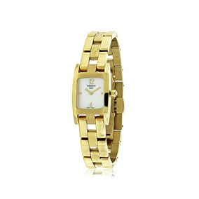 Tissot T3 Pvd Steel Mother-of-pearl Dial Women