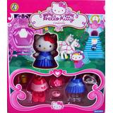 Hello Kitty Princesas Dysney Vestir Figuras (cenicienta)