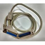 Cable Para Impresora Antigua Macho Hembra Ltp De 25 Pines.