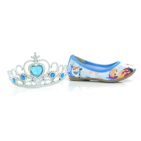 Sapatilha Azul Frozen Sugar Shoes + Brinde - Dc0004