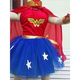 Disfraz Mujer Maravilla Nena