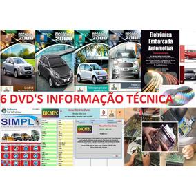 Combo Esquemas E Manuais- Dicatec +simplo +ciclo + [6 Dvds]