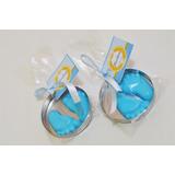 * Kit 50 Mini Lembrancinhas Para Saída De Maternidade Menino