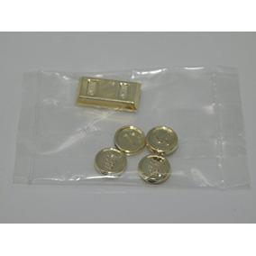 Lego - Oro Cromo Tesoro X4 Monedas De Oro X1 Lingote