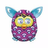 Boneco Pelúcia Furby Cor Roxo Original Fala Português Hasbro