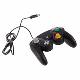 Mando Nintendo Gamecube Wii Color Negro