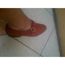 Zapatos Mujer, Cuero Y Suela, 37