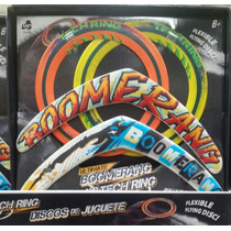 Boomerang Y Frisbee Lanard Paquete