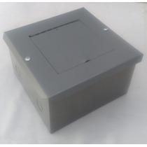 Caja Metálica,registro Telefónico 20x20x13cm Cierre Resbalón